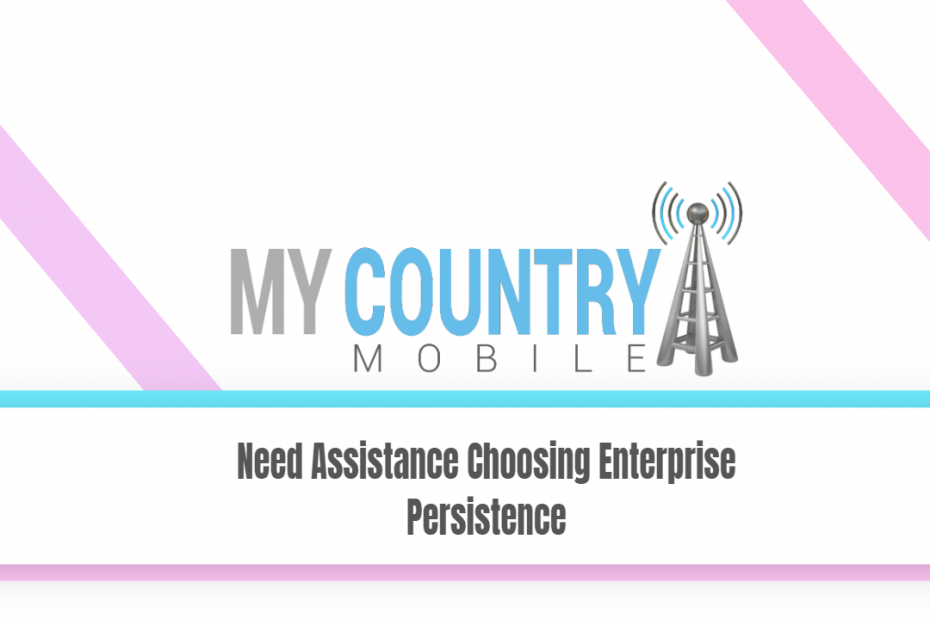 Need Assistance Choosing Enterprise Persistence - My Country Mobile